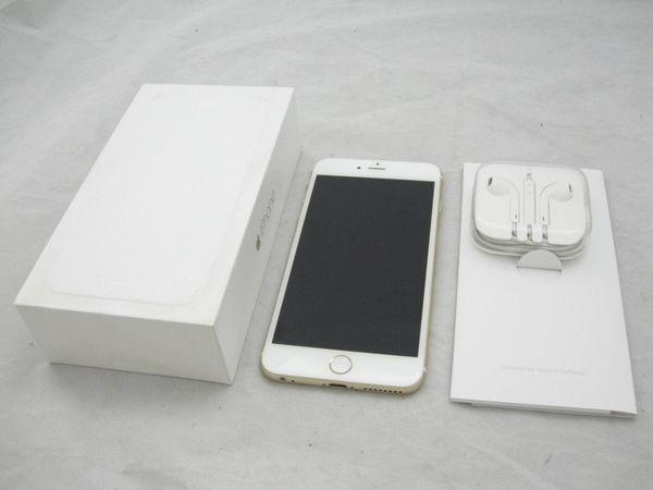 [極美品1円] Apple iPhone6 Plus MGAF2J/A A1524 Softbank 128GB ゴールド