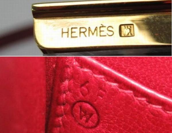 54227◆HERMES/エルメス ミニコンスタンス ショルダーバッグ レッド/ルージュ/ボックスカーフ/ゴールド金具/鞄/保管袋付き_画像7