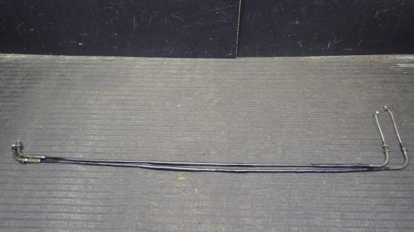ヤマハ SR400 1JR アクセルワイヤー Y132-11_画像1