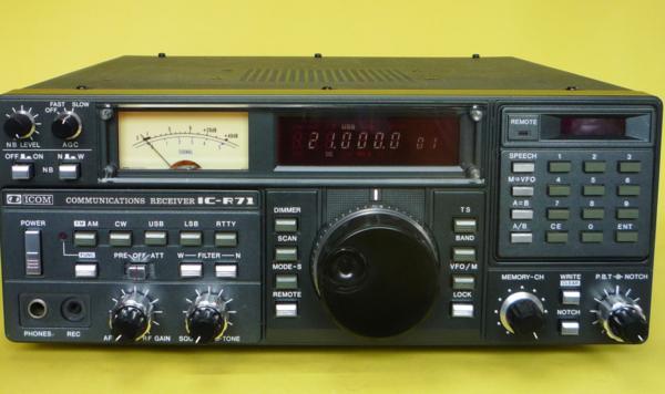 ☆不動品☆マニア向け☆ ICOM コミュニケーションレシーバー IC-R71