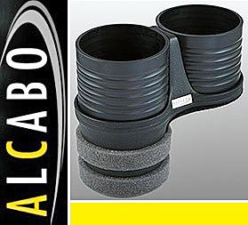 【M's】マセラティ グラントゥーリズモ(2007y-)/クアトロポルテ 5代目(2004y-2012y)ALCABO 高級 ドリンクホルダー(ブラック) AL-B109B_画像1