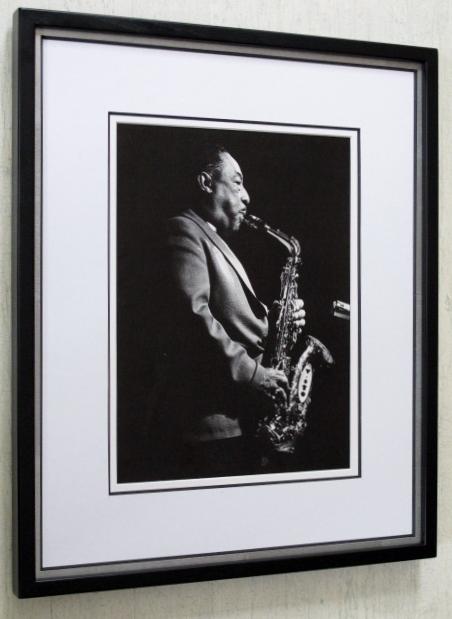 ジョニー・ホッジス/In Tennessee/アートピクチャー額装/Johnny Hodges/Framed Alto Sax Great