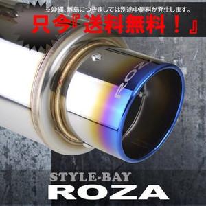 【送料無料】 ROZA マフラー トヨタ ハイエース KDH205V 2.5L ディーゼルターボ 4WD