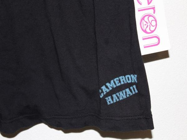 キャメロンハワイ Cameron Hawaii レディースノースリーブタンクトップ ブラック Mサイズ 新品_画像5