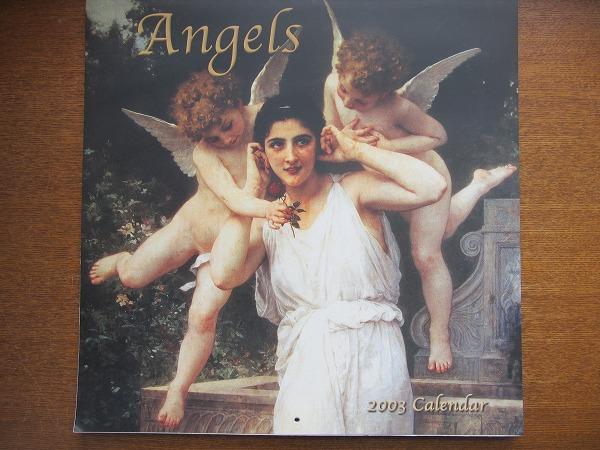 壁掛けカレンダー●Angels 2003 Calendar●エンジェル/天使_画像1