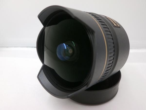 ニコン Nikon 交換レンズ ブラック AF DX Fisheye-Nikkor 10.5mm F2.8G ED