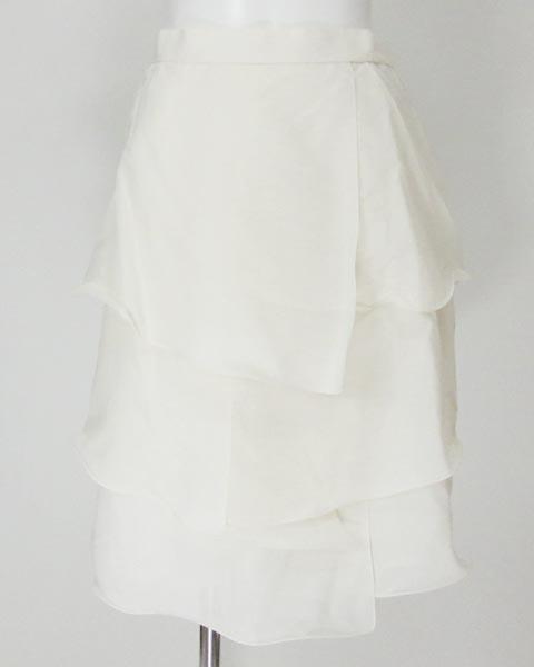 ミスアシダ miss ashida オフ白ノースリトップス&スカート 11_画像4