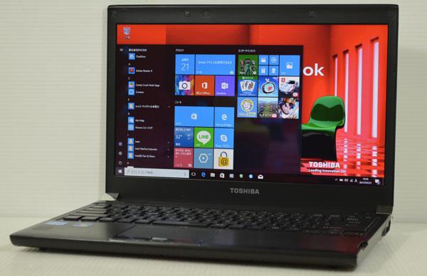 20J7 東芝 dynabook R732/F Core i5 3320M 4GB 320GB windows 10 Professional 64bit (windows 7 DtoD リカバリ領域有 )_画像1