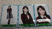 欅坂46 守屋茜 生写真 3rdシングル オフィシャル制服衣装 会場 3枚コンプ K-3