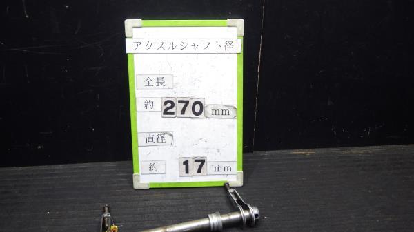 ヤマハ SR400 1JR リアアクスル Y132-51_画像10