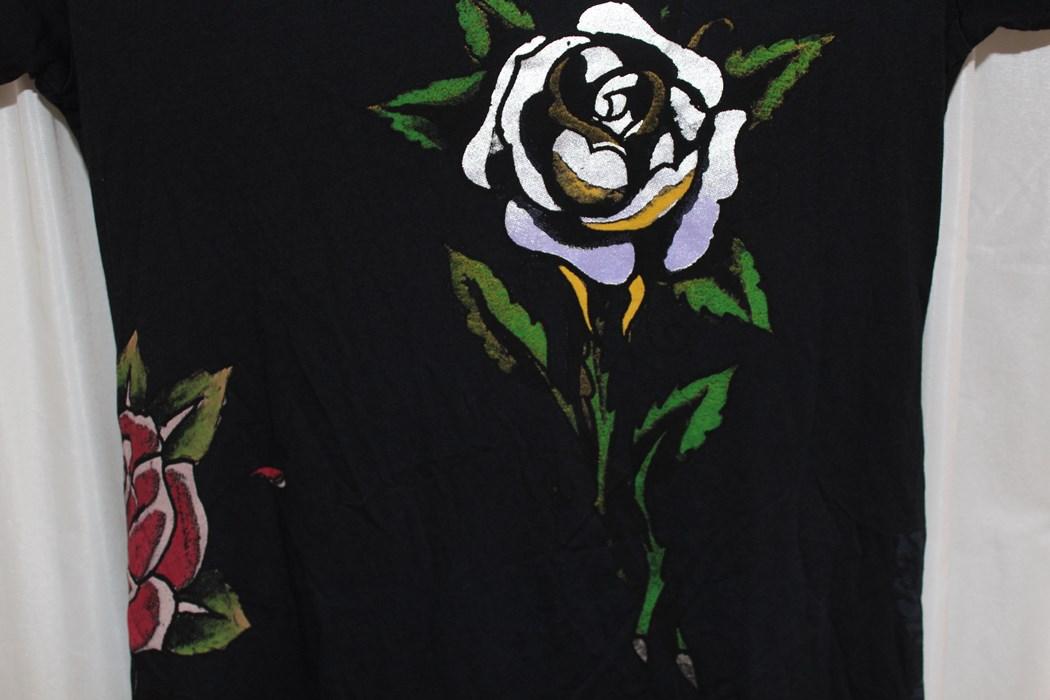 エドハーディー ED HARDY レディースチュニックTシャツ ブラックMサイズ 新品_画像5