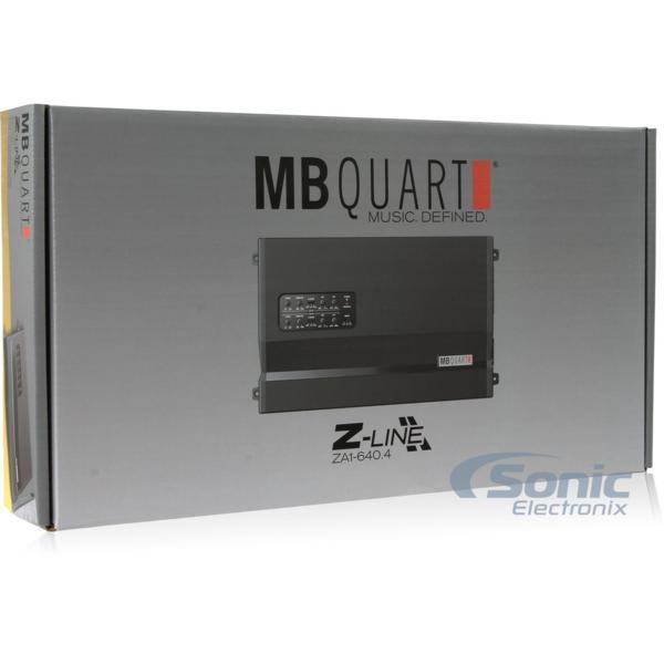 ■USA Audio/MBクォートMB Quart ZA1-640.4 4ch Class SQ AB税込_画像7