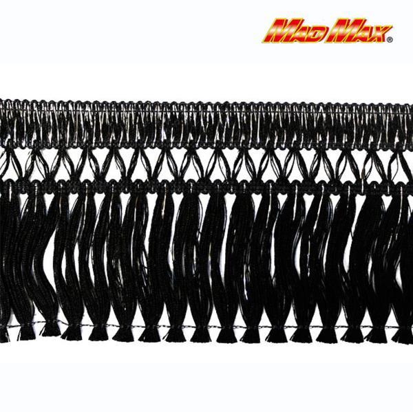 雅製 トラック用品 キララフレンジ 2.2m巻 ブラック/シルバー_画像1