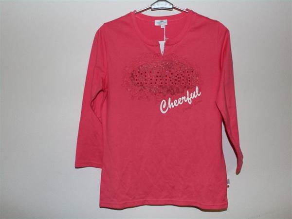 パシフィックコースト PACIFIC COAST レディース7分Tシャツ Mサイズ ピンク 新品_画像1