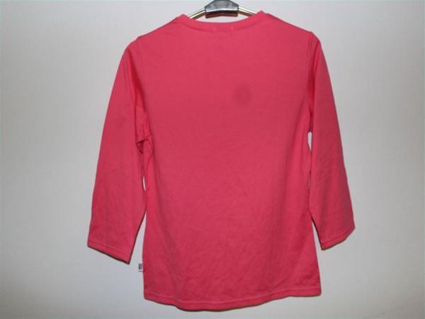 パシフィックコースト PACIFIC COAST レディース7分Tシャツ Mサイズ ピンク 新品_画像3