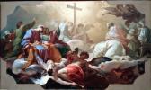 油絵 Giaquinto_最後の審判の日の聖十字架の崇拝