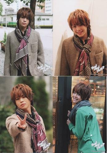 Hey!Say!JUMP 有岡大貴/2012年 公式写真4枚セット●管fa-4068
