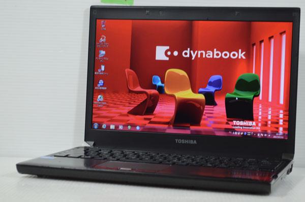 10R7 東芝 dynabook R730/B Core i3 380M 2.50GHz 4GB 250GB windows 7 Professional 64bit DtoD DVDマルチ内臓 リカバリメディア作成可能