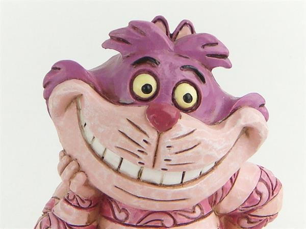 1円~ ディズニー ふしぎの国のアリス チシャ猫 Cheshire Cat 4056745 ジム・ショア フィギュア 外箱付 中古_画像4