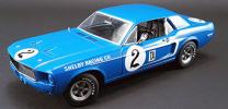 ACME特別モデル 906台限定 Greenlight製 ダイキャストモデル 1:18スケール 1968年モデル フォード マスタング ダン・ガーニー No.2