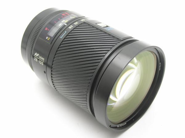 ★ハロ-カメラ★5825 MINOLTA AF ZOOM 28-135mm F4-4.5 動作品 ジャンク 要清掃_画像2