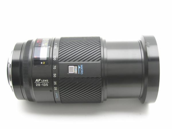 ★ハロ-カメラ★5825 MINOLTA AF ZOOM 28-135mm F4-4.5 動作品 ジャンク 要清掃_画像4
