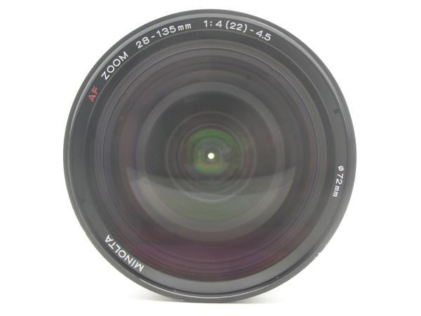 ★ハロ-カメラ★5825 MINOLTA AF ZOOM 28-135mm F4-4.5 動作品 ジャンク 要清掃_画像3