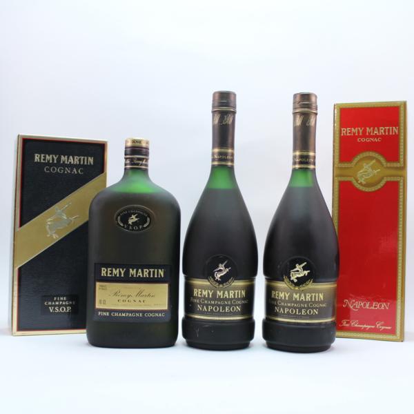 レミーマルタン REMY martin napoleon VSOP 700ml 40度 3本セット 箱付 #5805