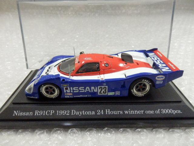 1/43 EBBRO NISSAN R91CP 1992 DAYTONA WINNER,NOREV ニッサン スカイラインGT-R KPGC10 1970_画像3