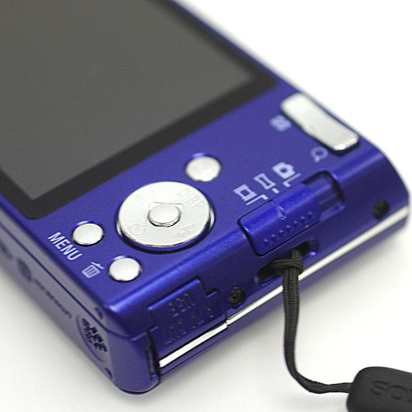 1円~ 美品 SONY ソニーCyber-shot サイバーショット DSC-W610 1410万画素 デジタルカメラ デジカメ 2.7型液晶 ブルー パープル系_画像5