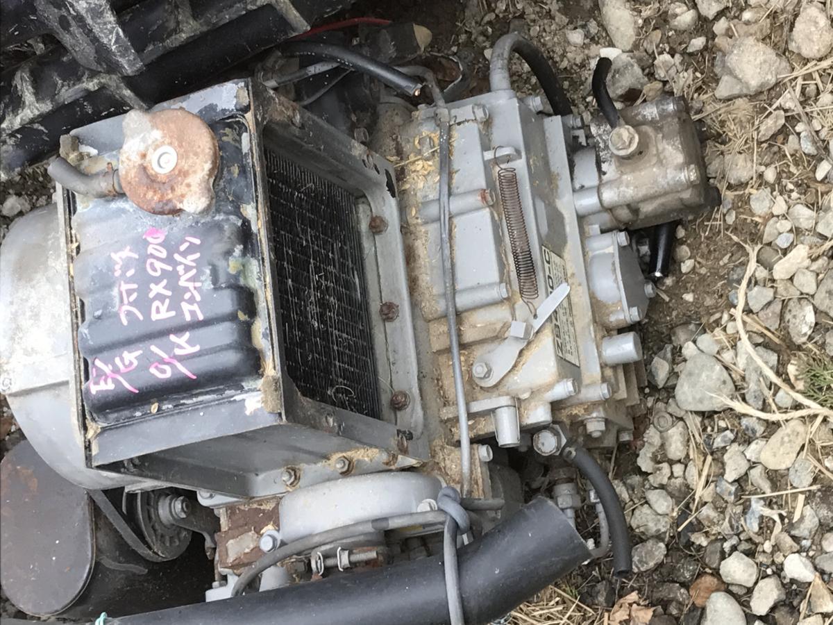 コンバイン用 エンジンZB-400C(動作OK) クボタRX900_画像1
