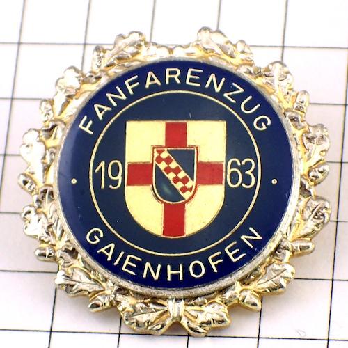 限定レア◆ピンバッジ◆マーチングバンド音楽ドイツ紋章ピンズフランス