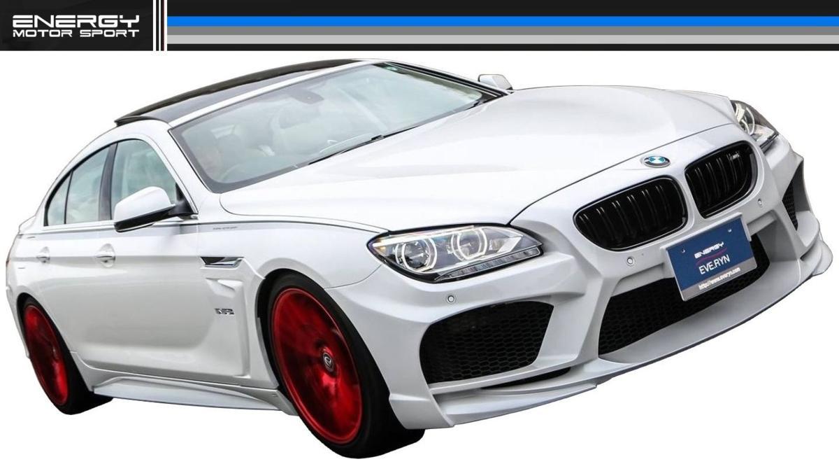 BMW F12 F13 F06 6シリーズ フロント バンパー エナジー モーター スポーツ ENERGY MOTOR SPORT エアロ クーペ カブリオレ グランクーペ M6_画像3