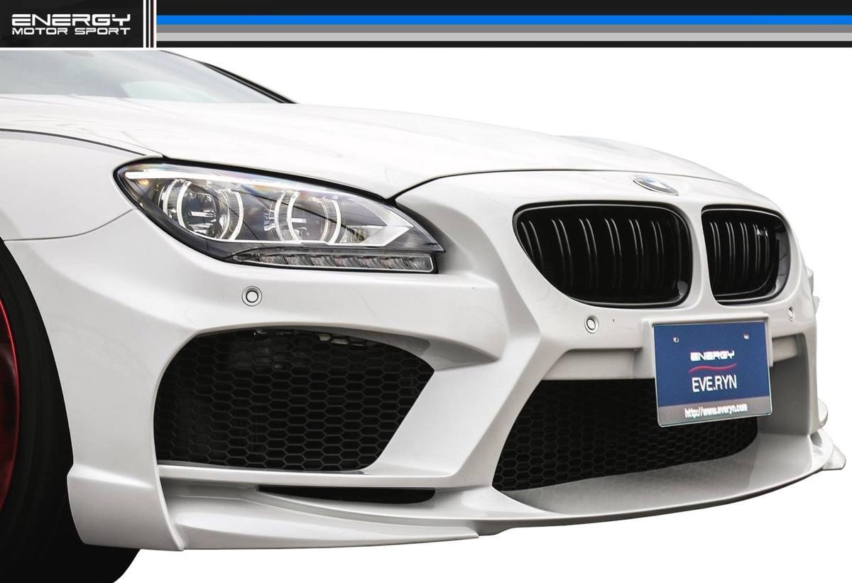 BMW F12 F13 F06 6シリーズ フロント バンパー エナジー モーター スポーツ ENERGY MOTOR SPORT エアロ クーペ カブリオレ グランクーペ M6_画像2