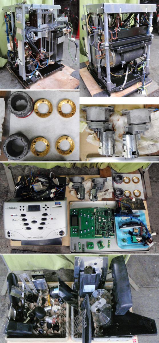 ◆分解清掃済!FMI La Cimbali/ラ・チンバリー製スーパーオートマチックエスプレッソ・コーヒーマシン M2-S10 定価¥330万!■_画像3
