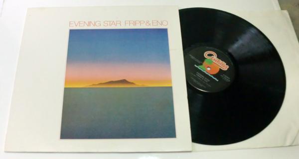 LP Fripp & Eno Evening Star AN-7018 1976_画像1
