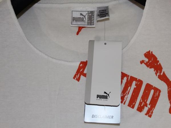 プーマ PUMA レディース半袖Tシャツ ホワイト Sサイズ 新品_画像4
