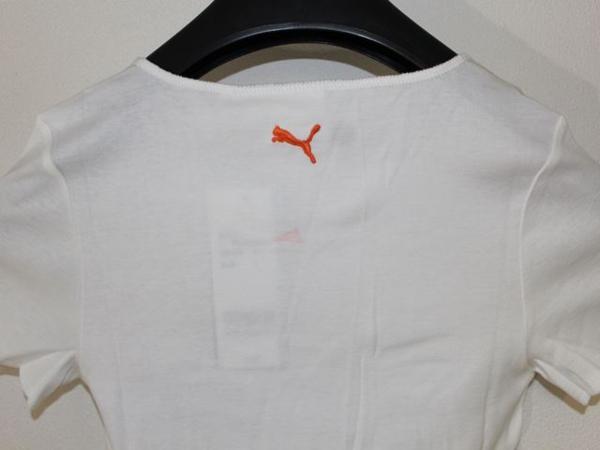 プーマ PUMA レディース半袖Tシャツ ホワイト Sサイズ 新品_画像6