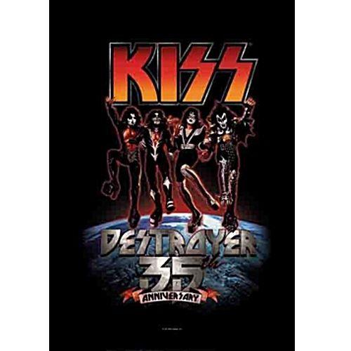 海外限定 公式 KISS キッス 35周年 特大布ポスター G95