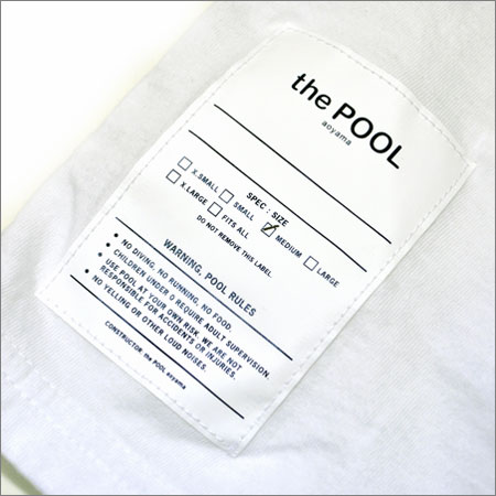 POOL SWEAT PARKA the POOL aoyama ltd. プール パーカー L_正規品です。ご安心してお求めください。