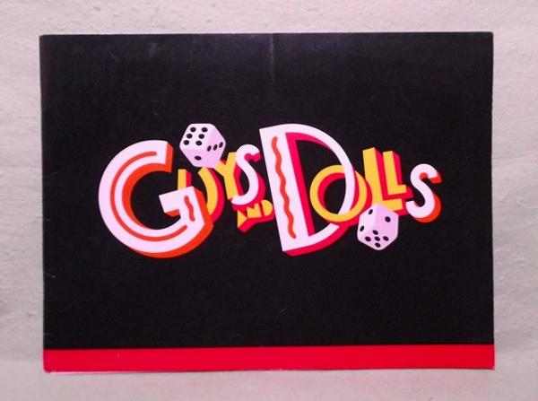 N-パンフ GUYS&DOLLS ガイズ&ドールズ US版