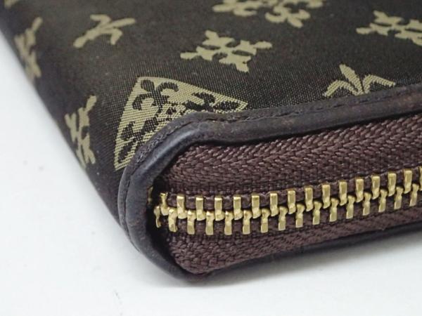 1円 【russet】 ラシット ラウンドファスナー 財布 ◆美品 質屋出品 質シミズ_画像5