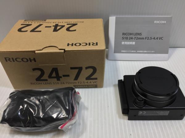 【未使用】RICOH リコー S10 24-72mm コンパクトカメラ用レンズ 3Y134 /A2