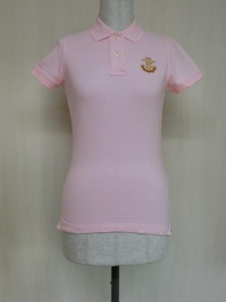 t862 【美品】 ラルフローレン POLO JEANS 半袖ポロシャツ ピンク S 綿100%_画像1