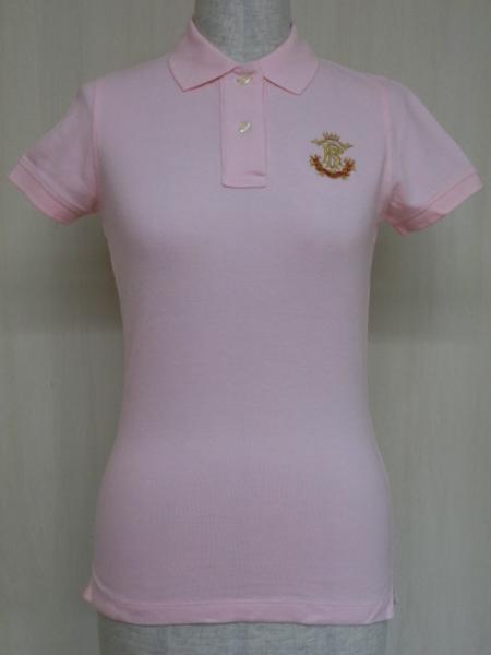 t862 【美品】 ラルフローレン POLO JEANS 半袖ポロシャツ ピンク S 綿100%_画像2