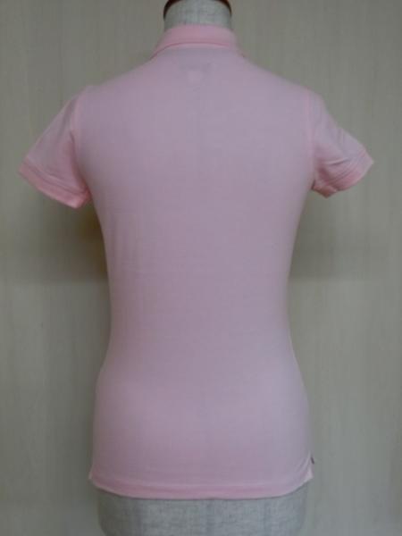 t862 【美品】 ラルフローレン POLO JEANS 半袖ポロシャツ ピンク S 綿100%_画像6