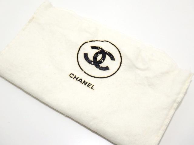 【大黒屋28】CHANEL/シャネル/チェーンショルダーバッグ/ダブルフラップ/マトラッセ/ラムスキン/ブラック/ゴールド金具_画像9