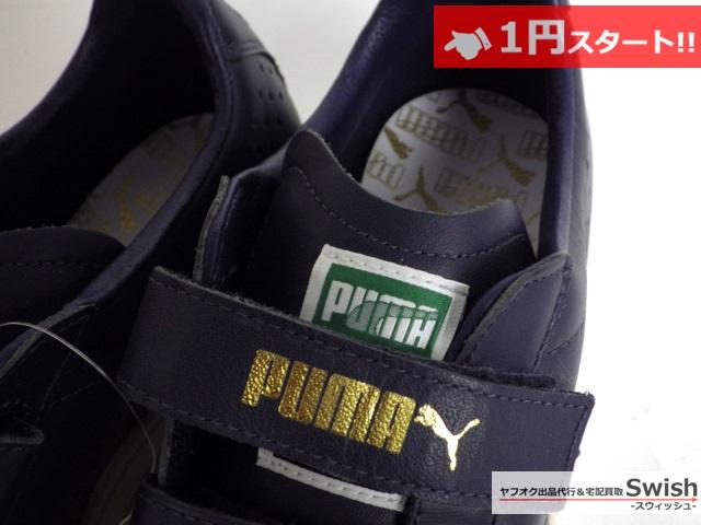 A784●PUMA プーマ●未使用COURT STAR V コートスターV スニーカー 28 紺●_画像4