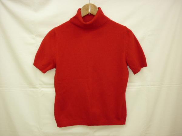 【YS-1】■ベネトン BENETTON レディース ニットシャツ■赤系_画像1