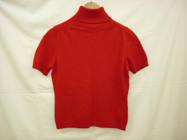 【YS-1】■ベネトン BENETTON レディース ニットシャツ■赤系_画像2